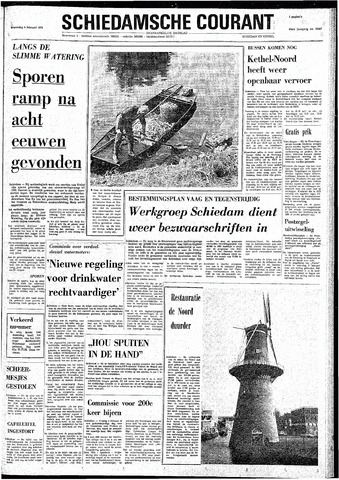Rotterdamsch Nieuwsblad / Schiedamsche Courant / Rotterdams Dagblad / Waterweg / Algemeen Dagblad 1974-02-06