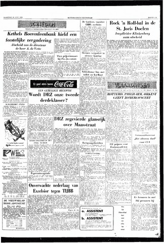 Rotterdamsch Nieuwsblad / Schiedamsche Courant / Rotterdams Dagblad / Waterweg / Algemeen Dagblad 1959-06-29