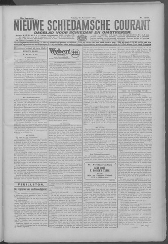 Nieuwe Schiedamsche Courant 1925-11-27