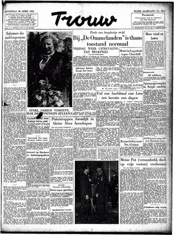 Trouw / De Rotterdammer 1953-04-30