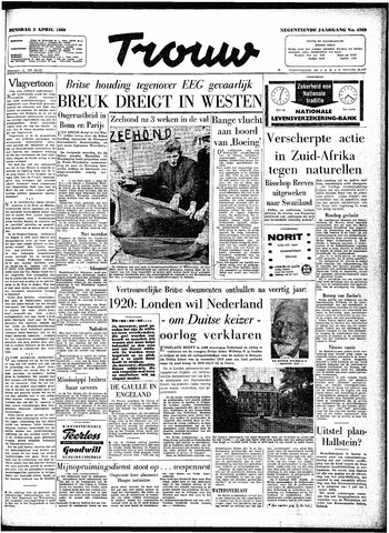 Trouw / De Rotterdammer 1960-04-05