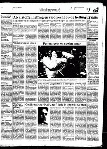 Rotterdamsch Nieuwsblad / Schiedamsche Courant / Rotterdams Dagblad / Waterweg / Algemeen Dagblad 1998-11-09