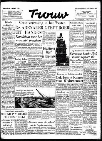 Trouw / De Rotterdammer 1959-04-08