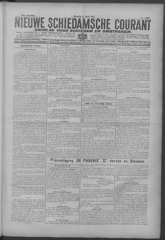 Nieuwe Schiedamsche Courant 1925-04-27