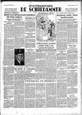 Rotterdamsch Parool / De Schiedammer 1948-04-10