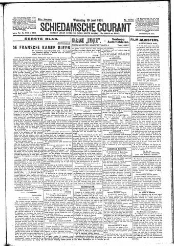 Schiedamsche Courant 1931-06-10