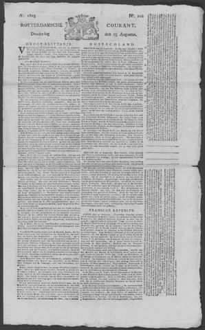 Rotterdamse Courant 1803-08-25
