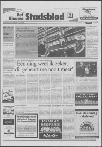 Het Nieuwe Stadsblad 2000-03-02