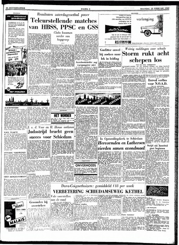 Trouw / De Rotterdammer 1962-02-12