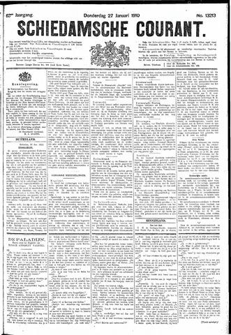 Schiedamsche Courant 1910-01-27