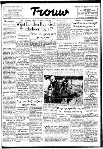 Trouw / De Rotterdammer 1957-03-28