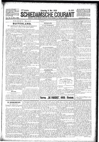 Schiedamsche Courant 1929-05-11