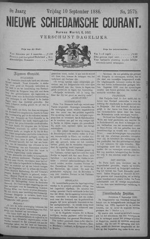 Nieuwe Schiedamsche Courant 1886-09-10