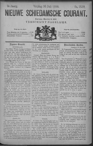Nieuwe Schiedamsche Courant 1886-07-30