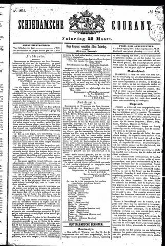 Schiedamsche Courant 1851-03-22