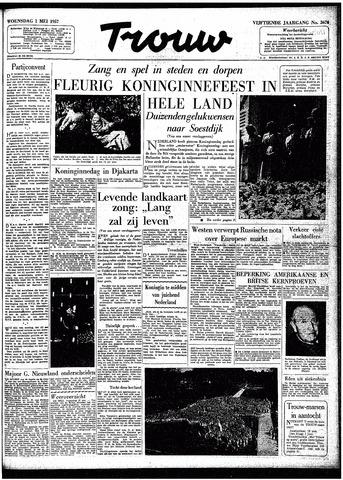Trouw / De Rotterdammer 1957-05-01