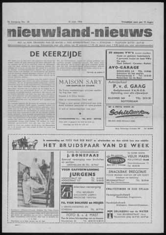 Nieuwland Nieuws 1966-09-22