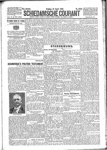 Schiedamsche Courant 1931-04-10