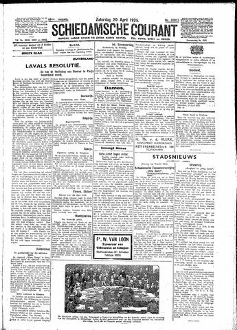 Schiedamsche Courant 1935-04-20