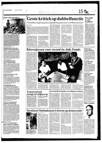 Rotterdamsch Nieuwsblad / Schiedamsche Courant / Rotterdams Dagblad / Waterweg / Algemeen Dagblad 1993-07-01