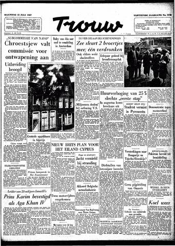 Trouw / De Rotterdammer 1957-07-15
