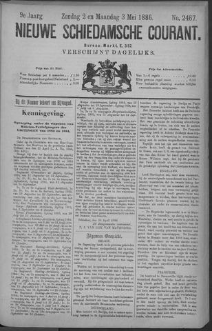 Nieuwe Schiedamsche Courant 1886-05-03