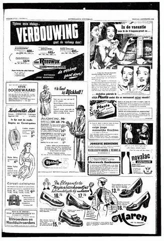 Rotterdamsch Nieuwsblad / Schiedamsche Courant / Rotterdams Dagblad / Waterweg / Algemeen Dagblad 1953-09-04