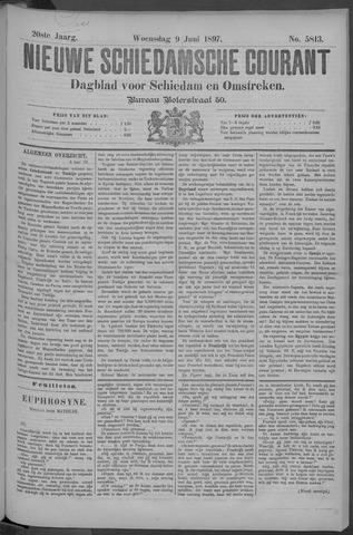Nieuwe Schiedamsche Courant 1897-06-09