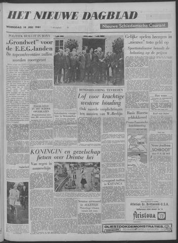Nieuwe Schiedamsche Courant 1961-07-19