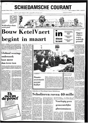 Rotterdamsch Nieuwsblad / Schiedamsche Courant / Rotterdams Dagblad / Waterweg / Algemeen Dagblad 1980-02-06
