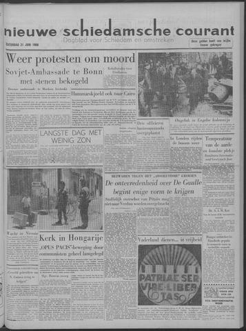 Nieuwe Schiedamsche Courant 1958-06-21