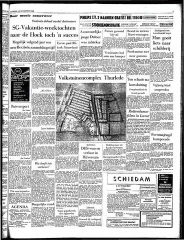 Rotterdamsch Parool / De Schiedammer 1963-08-13