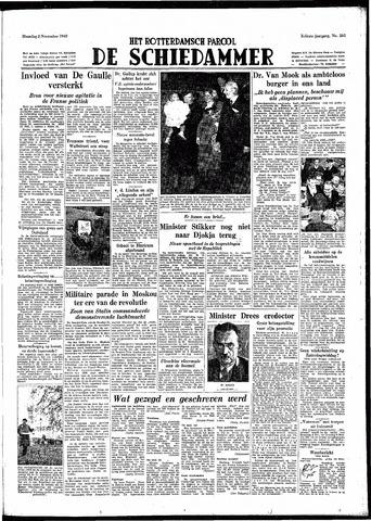 Rotterdamsch Parool / De Schiedammer 1948-11-08