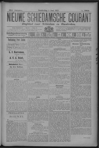 Nieuwe Schiedamsche Courant 1913-06-05
