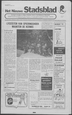 Het Nieuwe Stadsblad 1972-03-29