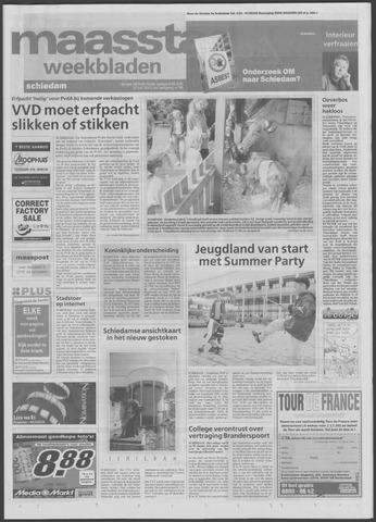 Maaspost / Maasstad / Maasstad Pers 2001-07-25