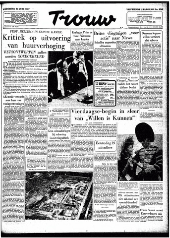 Trouw / De Rotterdammer 1957-07-24