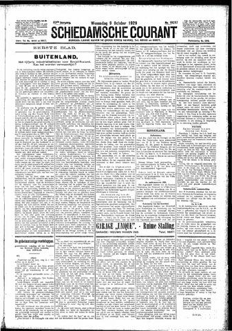 Schiedamsche Courant 1929-10-09