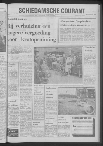 Rotterdamsch Nieuwsblad / Schiedamsche Courant / Rotterdams Dagblad / Waterweg / Algemeen Dagblad 1970-11-17