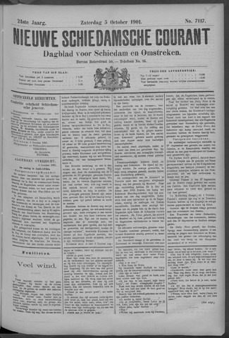Nieuwe Schiedamsche Courant 1901-10-05