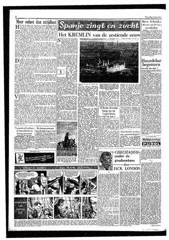 Rotterdamsch Parool / De Schiedammer 1957-06-05