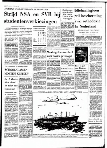 Rotterdamsch Parool / De Schiedammer 1968-02-19