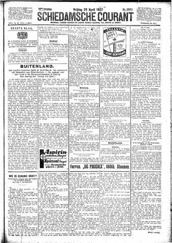 Schiedamsche Courant 1927-04-29
