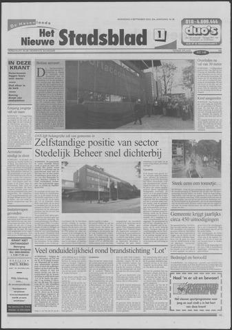 Het Nieuwe Stadsblad 2000-09-06