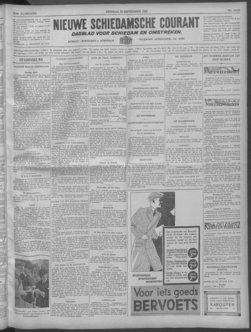Nieuwe Schiedamsche Courant 1932-09-20