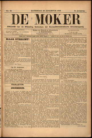 De Moker 1905-08-26