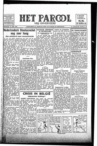 Rotterdamsch Parool / De Schiedammer 1945-06-18