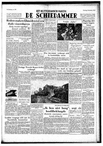 Rotterdamsch Parool / De Schiedammer 1949-12-03