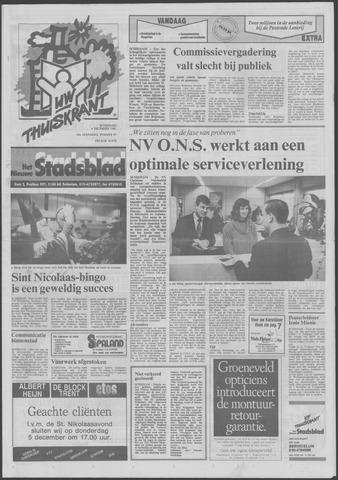 Het Nieuwe Stadsblad 1991-12-04