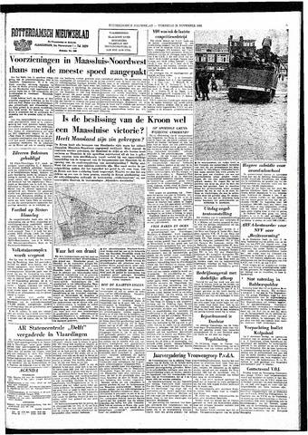 Rotterdamsch Nieuwsblad / Schiedamsche Courant / Rotterdams Dagblad / Waterweg / Algemeen Dagblad 1964-11-25